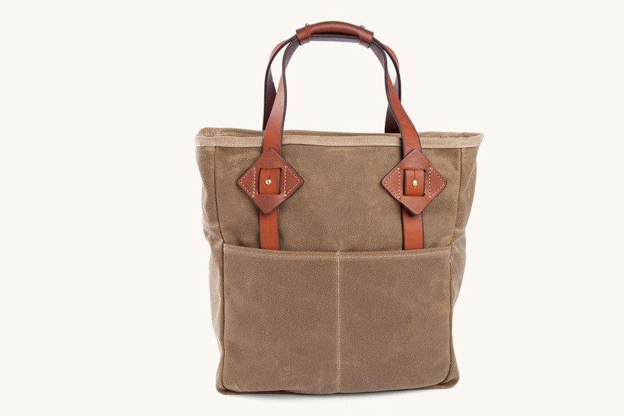 Tanner Goods Everyday Tote in Waxed Field Tan