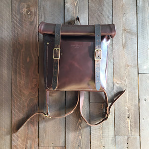 Howl and Hide Booker Rucksack in Umber