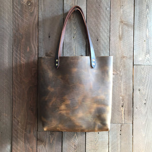 Howl and Hide Jameson Tote in Rustic Brown
