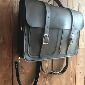 Howl and Hide Forester Bag in Matte Black