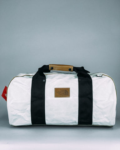 78 Basecamp Duffel Vintage White Small