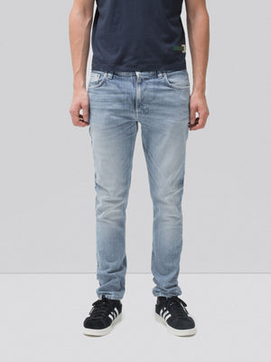 Nudie Jeans Lean Dean Worn In Green