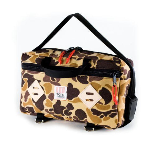 Topo Designs Mini Mountain Bag Camo