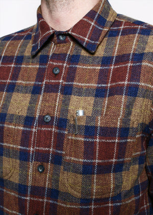 Rogue Territory Jumper shirt Ochre HB Plaid
