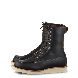 Red Wing 8829 8-inch Moc Billy Boot Black Klondike
