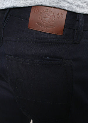Rogue Territory X Mildblend Supply SK 17oz Slub Dark Indigo