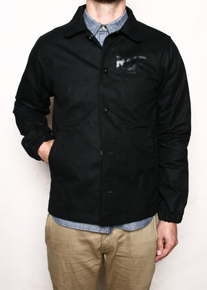 Rogue Territory Coach's Jacket in Black