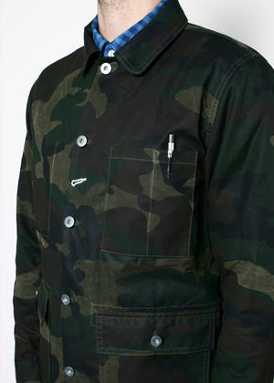 Rogue Territory Field Jacket Waxed Olive Camo