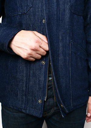 Rogue Territory Infantry Jacket Knitted Denim