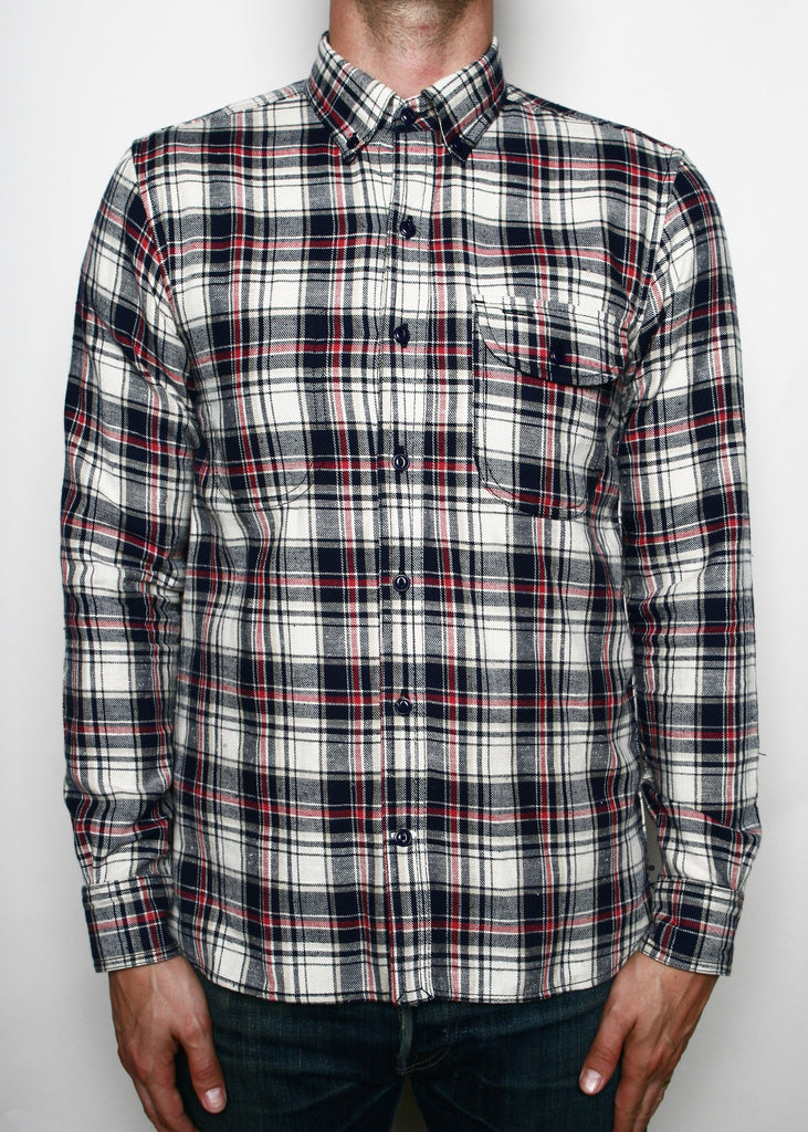 Rogue Territory Jumper Shirt Khaki Plaid