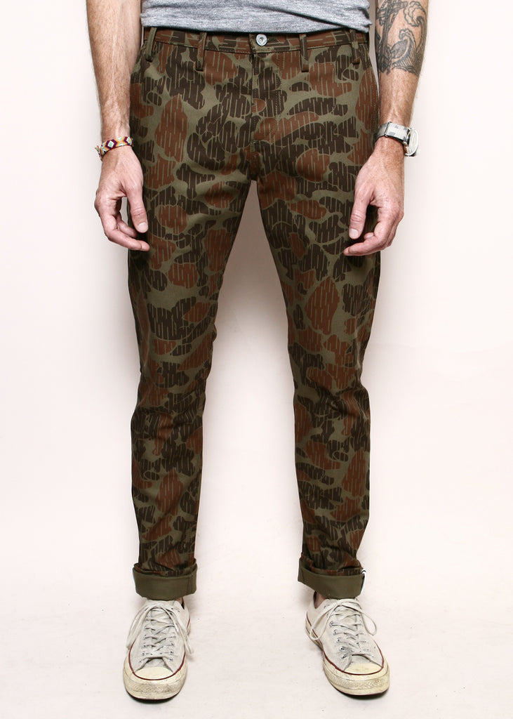 Rogue Territory Officer Trouser Anniversary Camo Olive