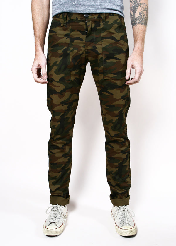 Rogue Territory Olive Camo Safari Trousers