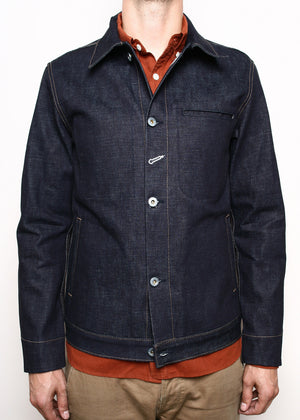 Rogue Territory Supply Jacket Indigo Denim