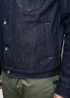 Rogue Territory Type 3 Jacket in Neppy Denim