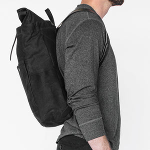 Winter Session Rolltop in Black