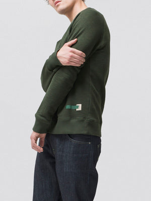 Nudie Jeans Samuel Green Sweatshirt