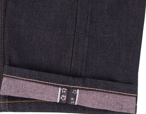 Naked & Famous Super Guy Hanami Selvedge Indigo/Pink