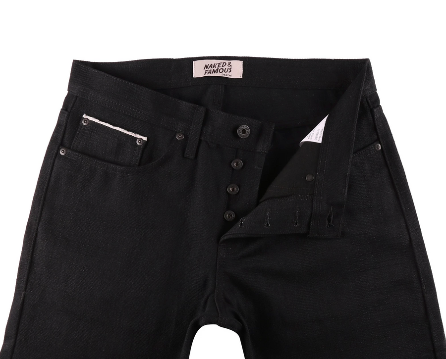 Naked & Famous Weird Guy Japan Heritage Black