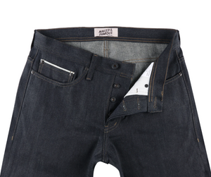 Naked & Famous Weird guy Seaweed selvedge