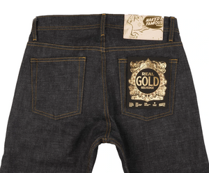 Naked & Famous Weird Guy Real Gold Selvedge