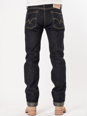 Iron Heart IH-666S-19L-V2 19oz Left Hand Twill Selvedge Denim