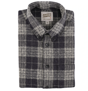 Naked & Famous Easy Shirt Triple Twist Vintage Flannel