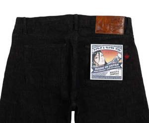 Naked & Famous Weird Guy MIJ7 Yahan Midnight Selvedge