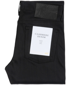 Naked & Famous Weird Guy Black Cashmere