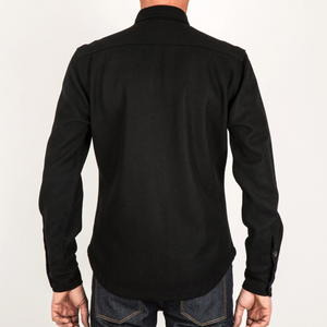 Kato by Hiroshi Kato The Anvil Shirt in Black