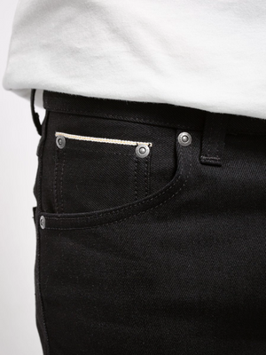 Nudie jeans Lean Dean Black selvedge