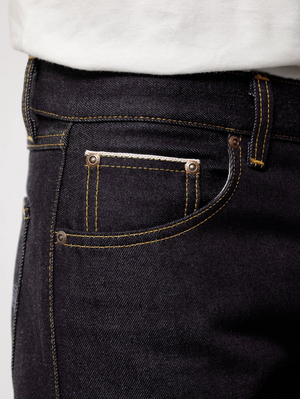 Nudie Jeans Gritty Jackson Dry Maze Selvage