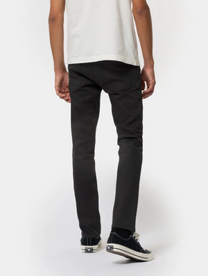 Nudie Jeans Grim Tim Dry Ever Black