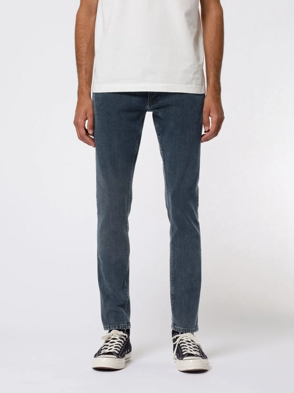 Nudie Jeans Tight Terry Black Ocean
