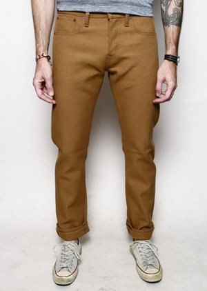 Rogue Territory Stanton Copper Canvas Selvedge