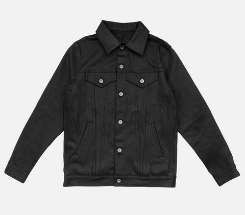 3sixteen Type 3s Denim Jacket Double Black