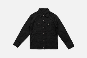 3sixteen Type 3 Waxed Jacket Black