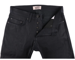 Naked and Famous Weird Guy Lefthand Twill Midnight Edition