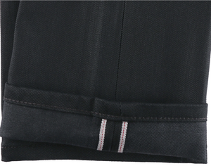 Naked & Famous Super Guy Black Cobra Stretch Selvedge