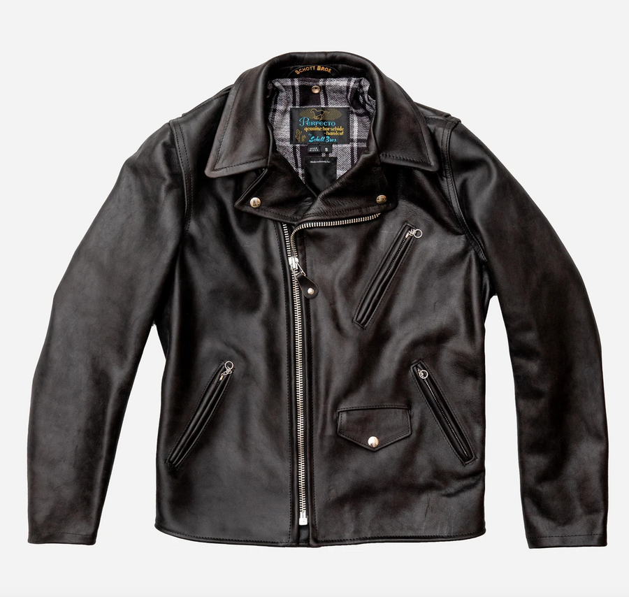 Schott for 3sixteen Chromexcel Horsehide Perfecto