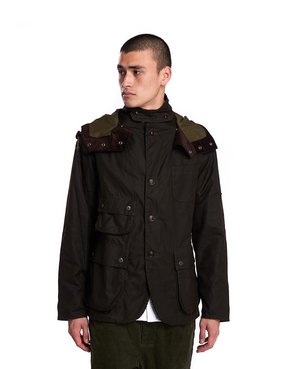 Barbour  X Engineered Garments Upland Olive