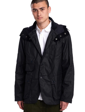 Barbour X Engineered Garments Upland Navy