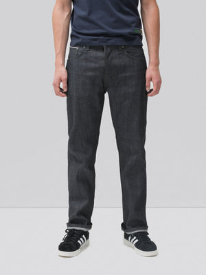 Nudie Jeans Sleepy Sixten Dry Green Selvage