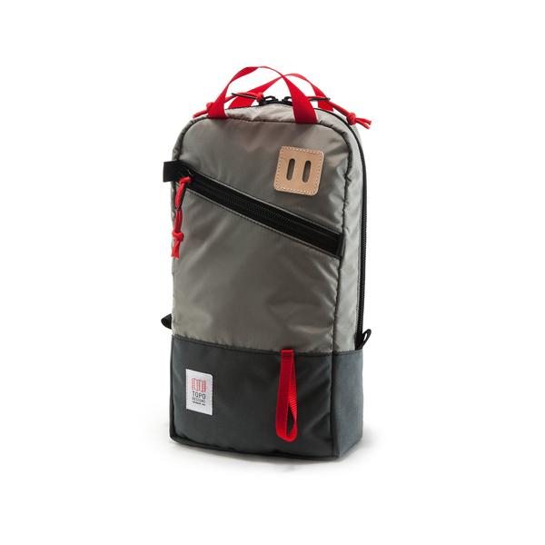 Topo Designs Trip Pack in Silver/Charcoal