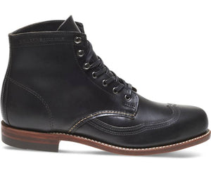 Wolverine 1000 Mile Addison Boot Black