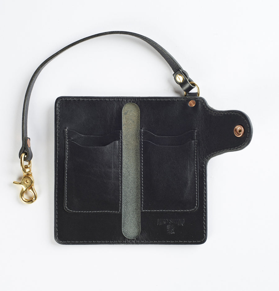 Mercy Supply Co. Trucker Wallet Black