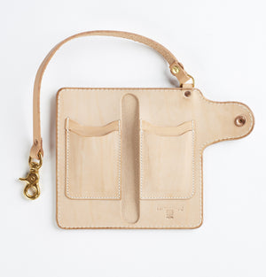 Mercy Supply Co. Trucker Wallet Natural