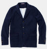 Apolis Washed Linen Civilian Blazer Indigo