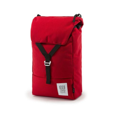Topo Designs Y Pack Red