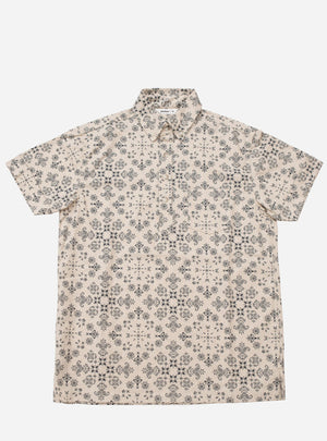 3sixteen bandana shirt popover natural