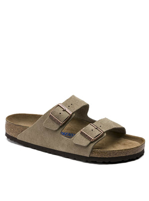 Birkenstock Arizona Suede Leather in Taupe 951301